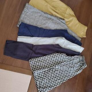 パンツ6本 色んなブランドあり