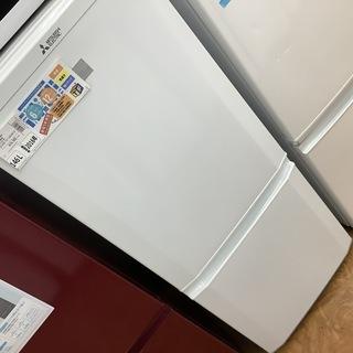 2ドア冷蔵庫 MITSUBISHI  2016年製 MR-P15...
