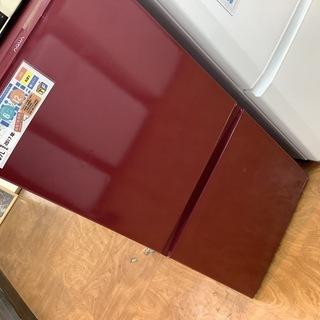 2ドア冷蔵庫 AQUA  2017年製 AQR-16F