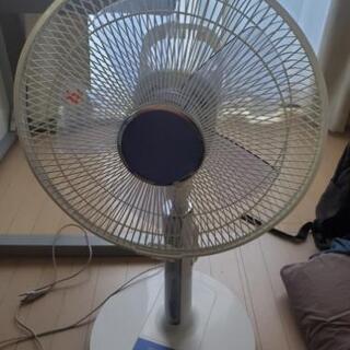 【差し上げます】扇風機、リモコンつき(値下げ)