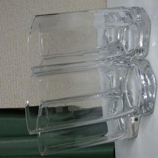 斜めの6角グラス