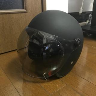バイク用ヘルメットマットブラック最終価格