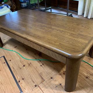 座卓テーブル 1200×600×410です