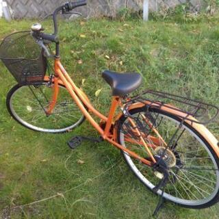 変則付き26インチ 自転車