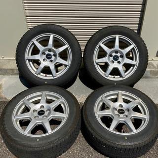 VWポロ ホイール付きスタッドレスタイヤ  185 60 R15