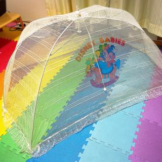 ベビー 蚊帳 ワンタッチ式 ドーム型