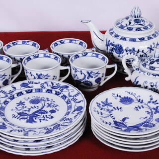 3133 Vienna Woods Fine China ブルー...