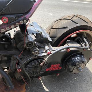 ズーマーカスタム(未完成)250cc 125登録 スカブエンジン