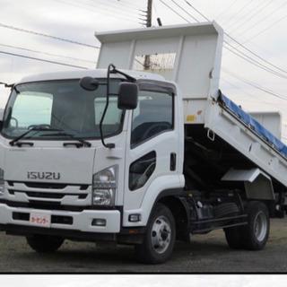 日給14000円〜4tダンプ 運転手