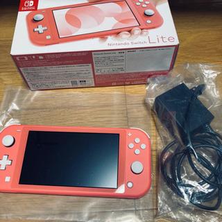 Nintendo Switch light あつ森セット コーラル