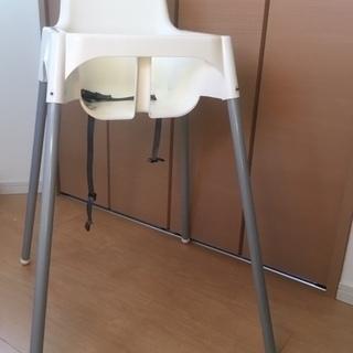 IKEA ANTILOP ハイチェア ホワイト
