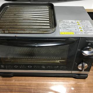 東芝 TOSHIBA オーブントースター HTR-YDH5-S