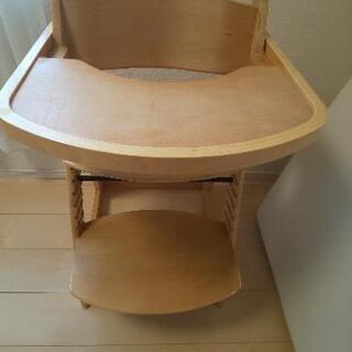 【無料】乳幼児用ダイニングイス テーブル付