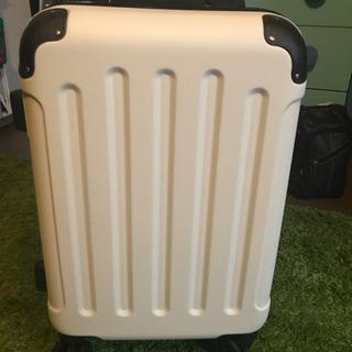 スーツケース 旅行 トラベル ホワイト 機内持ち込み