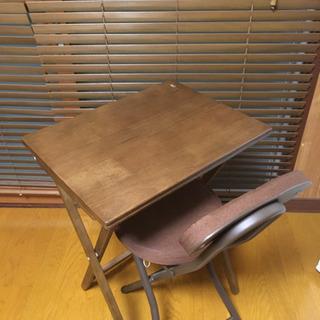 【引き渡し終了】机と椅子のセット 中古品