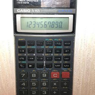 【大幅値引き可】カシオ 関数電卓 fx-912s