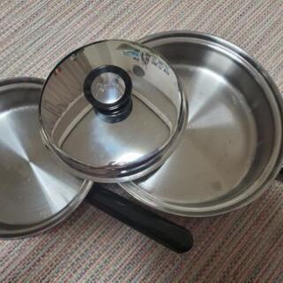 Amway QUEEN 高級鍋 フライパン