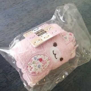ウサギ型プチタオル ピンク 未使用*他のものを購入された方へ無料...