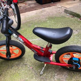 子供用 自転車 黒 バランスバイク