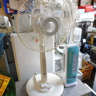 【ネット決済】B256 東芝扇風機 リモコン付 収縮最大110c...