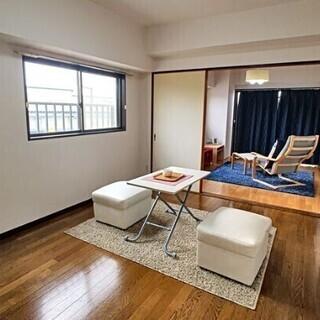 【初期費用3万円部屋】博多区東平尾の2DK、飛行機がずっと見れま...