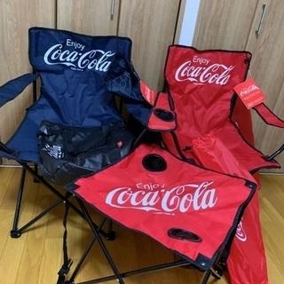 【新品】コカコーラ アウトドア3点セット+おまけ