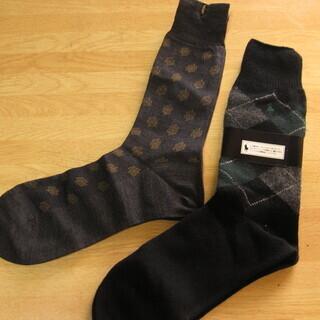 メンズ ポロ・ラルフローレンとテイジンブランドの靴下セット 新品未使用