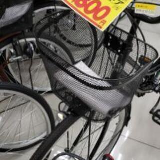 自転車 ママチャリ 軽快車 27インチ 6段変則付き 新古品 2...