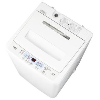 アクア 4.5kg 全自動 洗濯機 ホワイトAQUA AQW-S...