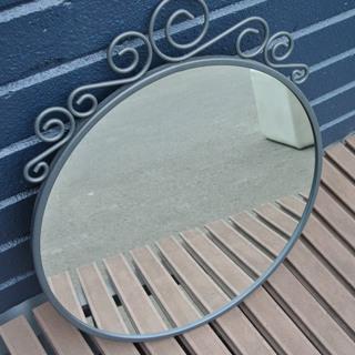 【081203】鏡 ミラー IKEA ※同じもの2枚あります! ...