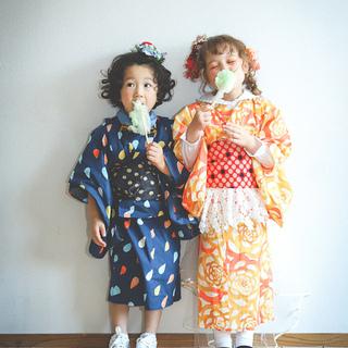 さんこ。の夏祭り撮影会  feat.  ニットヘアアクセサ…