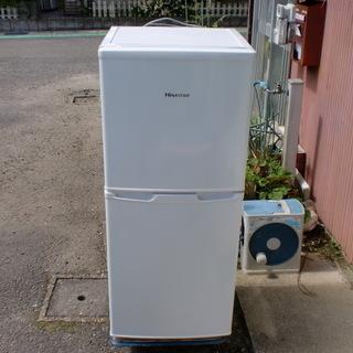 2ドア冷蔵庫 中古 小型ながら冷凍庫は大き目!