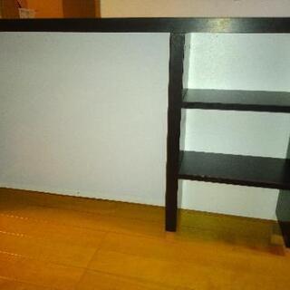 机の上に置く棚(IKEA)