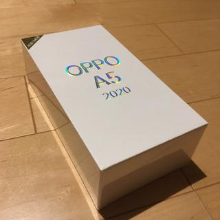 8/14締切予定 OPPO A5 2020 (ブルー)SIMフリ...