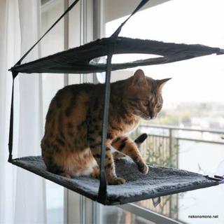 ウィンドウベッド 猫用ハンモック キャットウォーク