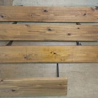 木製 物品棚 ウォールシェルフ ディスプレイ棚