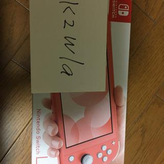 【再出品】新品未使用Switch lite コーラル ピンク本体