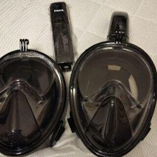 新品あり シュノーケルマスク サイズ S/M GOPRO使用可能