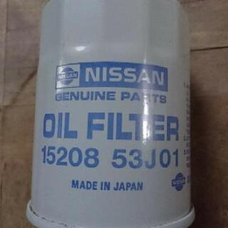 日産純正 オイルフィルター 15208-53J01 と ホンダ純...