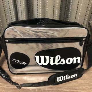 【未使用】ウィルソンエナメルショルダーバッグ