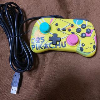 Nintendo Switch ホリパット ミニ ピカチュウ