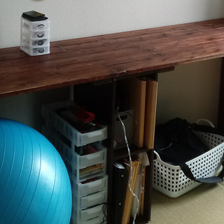 DIY机 約235cm 1x4 カラーボックス