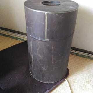 昭和 レトロ アンティーク 大きな 茶づつ 茶筒