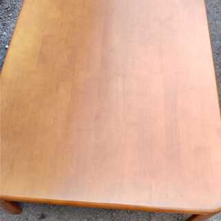 ちゃぶ台 ローテーブル 傷有り ニトリ 座卓