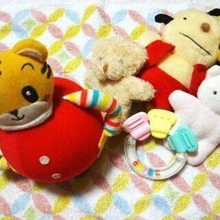 ベビーおもちゃ 起きあがりこぼし 歯がため 人形 5点まとめて