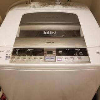 【5月末引渡】日立 ビートウォッシュ 全自動洗濯機 bw90tv...