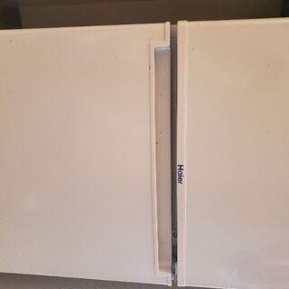 [2017製]ハイアール 85L 2ドア冷蔵庫(直冷式)ホワイト...