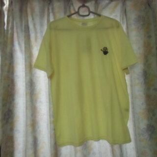 (一時受付終了)ミニオン レディース Tシャツ Lサイズ イエロ...