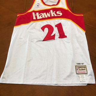 NBA ホークスウィルキンススウィングマンバスケットボールジャージ