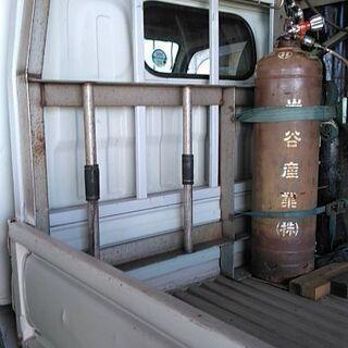 トラック荷台 ステンレス枠
